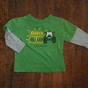 John Deere Long Sleeve Tee Daddy's Little Helper